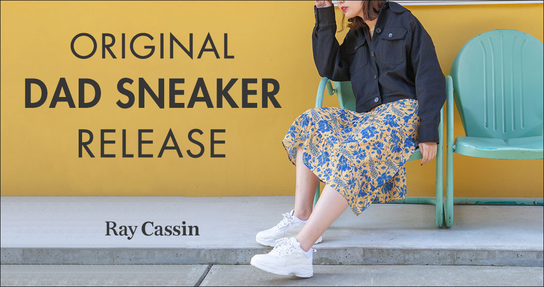 DAD SNEAKER | Ray Cassin